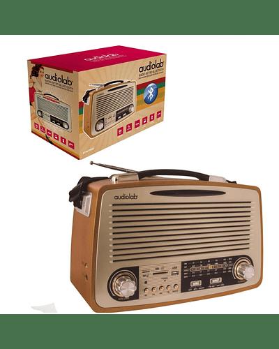 Radio estilo Retro con Bluetooth