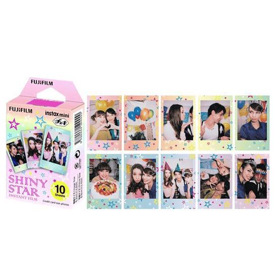 Película Instax mini 10 fotos SHINI STAR