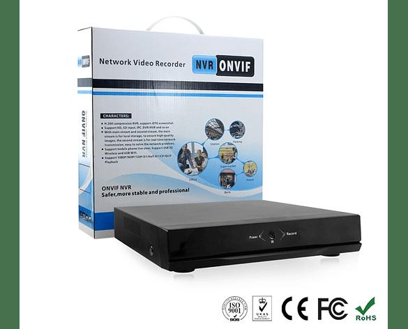 Grabador de Cámaras IP NVR de 8 Canales