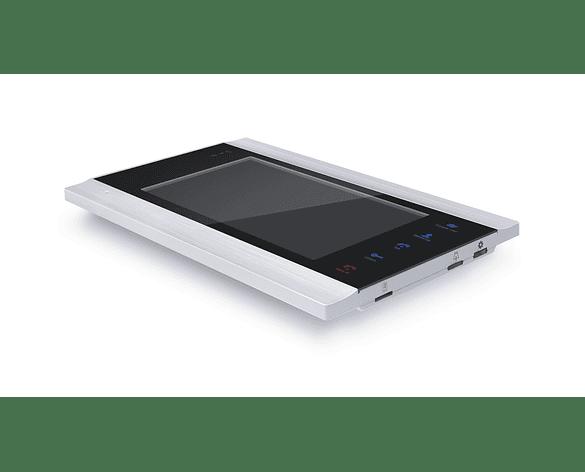 "Video Portero Citófono a color 7""TFT LCD Alámbrico Wifi 2 Puertas"