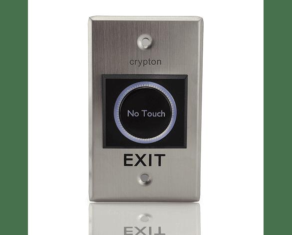 Botón de Salida Rectangular Metálico Sin Contacto no Touch