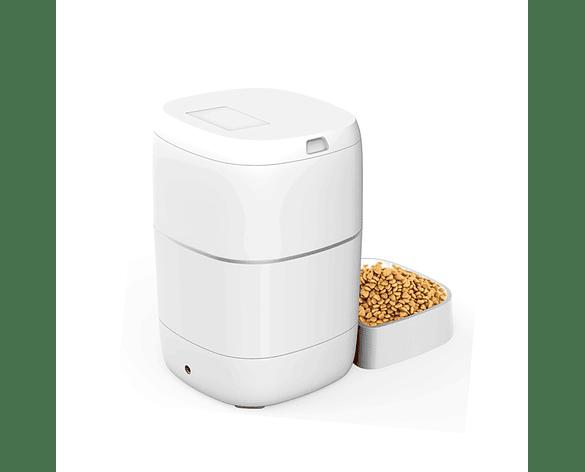 Alimentador Dispensador Automático De Alimentos Para Mascotas 3 L