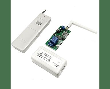 1 Relés Interruptor Inalámbrico de 5 km Control Remoto Domótica
