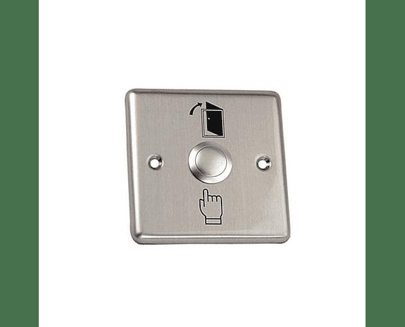 Botón de Salida Metalico para Apertura de Puertas