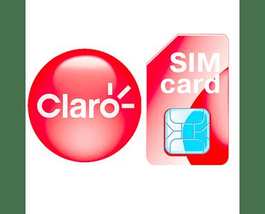 Chip Prepago Claro