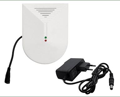 Sensor inalámbrico para quebradura de vidrio, Alarma GSM.