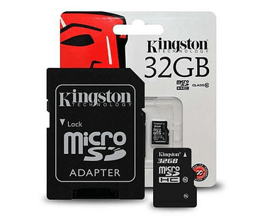 Kingston 32GB micro SDHC Class 10