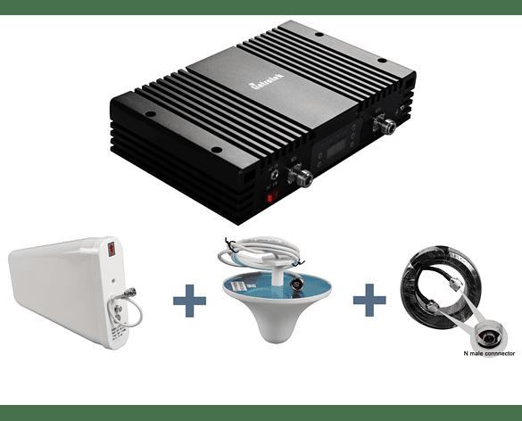 Repetidor de señal GSM Amplificador De Señal de celular para 2G y 3G hasta 1500 metros cuadrados