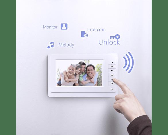 "Video Portero Intercomunicador Color  7"" LCD"