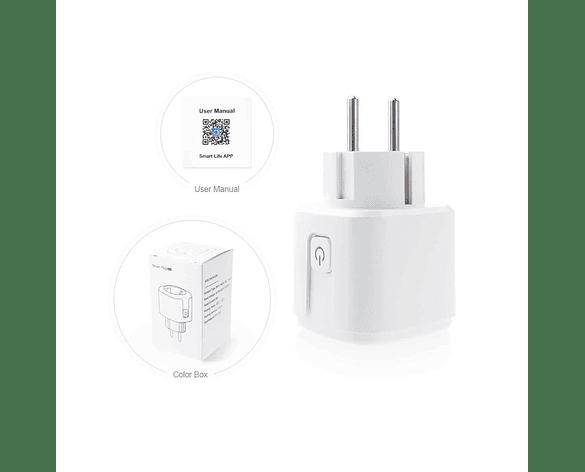 Interruptor Inteligente WiFi Inalámbrico Smart PLUG APP Tuya Dómotica