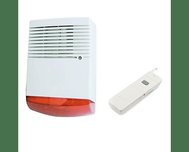Sistema de alarma comunitaria RF botón de pánico 1Km Hasta 20 usuarios