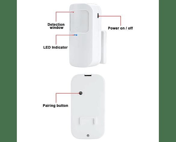 Sensor de Movimiento PIR inalámbrico G30