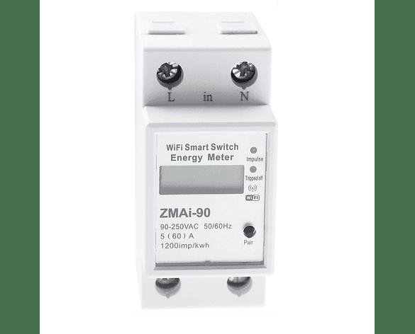 Interruptor inteligente WiFi medidor de energía Tuya Smart Smart Life