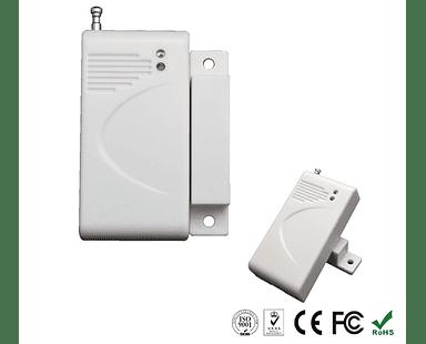 Sensor magnético inalámbrico para puertas y ventanas para Alarmas GSM