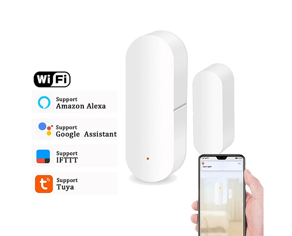 Sensor magnético para puertas y ventanas Wifi tuyasmart