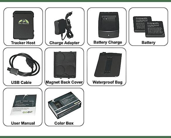 Coban GPS 102B Tracker GSM Rastreador para Vehículo