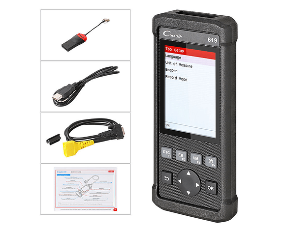 Scanner Automotriz LAUNCH 619 Español Actualizable