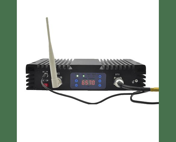 Repetidor de Señal Tres Bandas 2G 3G y 4G 850mhz-1900mhz-2600mhz Alta Potencia