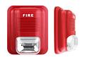 Sirena alámbrica con Baliza para Alarma de incendio