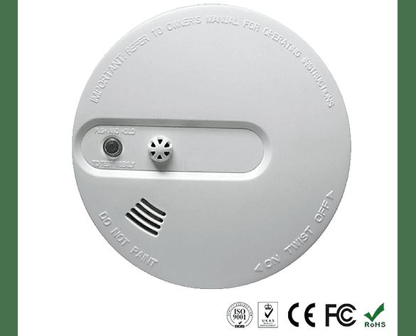 Sensor de Humo y Calor Inalámbrico para Alarma GSM