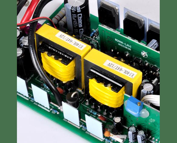 Inversor De Voltaje 500W De Onda Sinusoidal Pura 12V DC 110V 220V AC