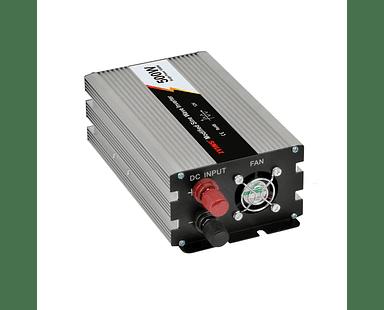 Inversor de Voltaje 500W Solar de Onda Sinusoidal Modificada 12V DC AC 220V