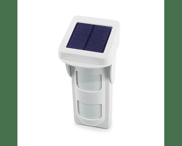 Detector de movimiento PIR exterior inalámbrico IP65 Panel Solar