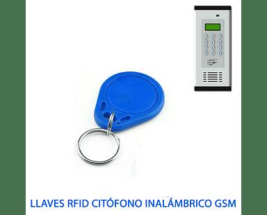 llaves RFID Citófono inalámbrico GSM