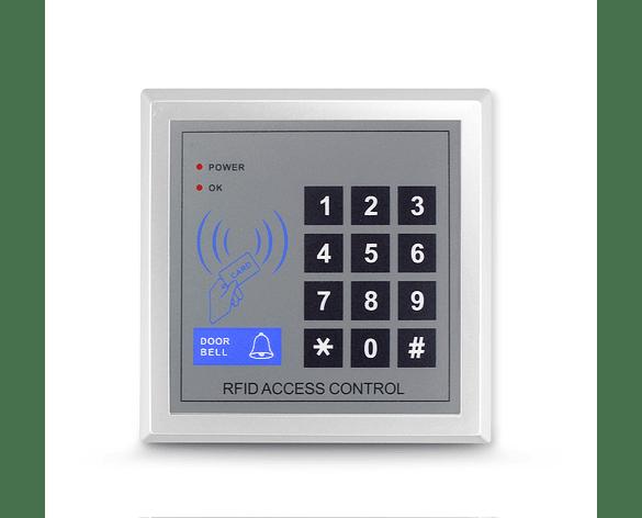 Teclado de Control de Acceso de Tarjeta RFID y Clave