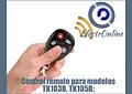 Control remoto para modelo TK103B, TK105B;