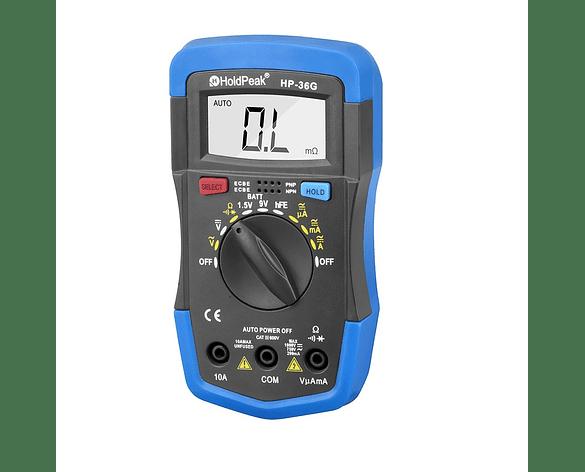 Multitester Tester Eléctrico Multímetro Digital Portátil