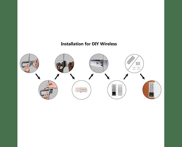 Kit de Cerradura eléctrica inalámbrico inteligente DIY para puerta