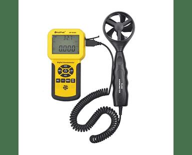 Anemómetro Profesional de Flujo de Aire Certificado