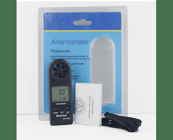 Anemómetro de Flujo de Aire mini portátil