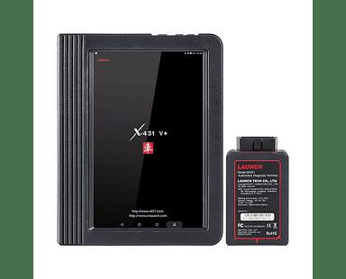 Escáner Automotriz Multimarca Profesional Launch X431 V+ 10 Pulgadas Español
