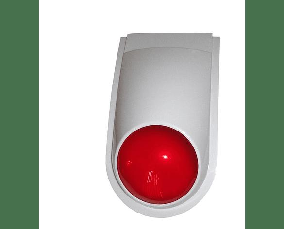 Sirena Exterior baliza con botón de aprendizaje