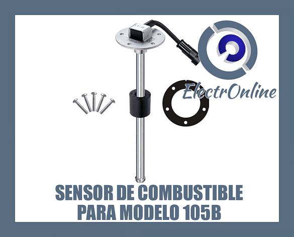 Sensor de combustible para GPS 105B 0,53 metros
