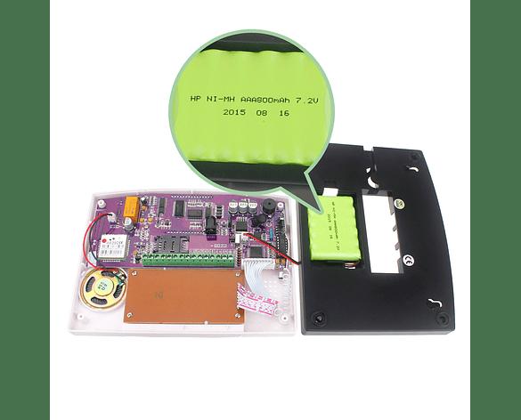 Sistema de Alarma GSM de casa 99 Zonas Inalámbricas 7 Alámbricas CQN