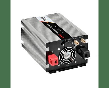 Inversor de Voltaje y Controlador Solar 1000W Onda Sinusoidal Pura 12V DC AC 220V