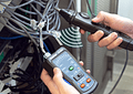 Tester Probador de Cables RJ11 RJ45 BNC con Rastreador de Cables