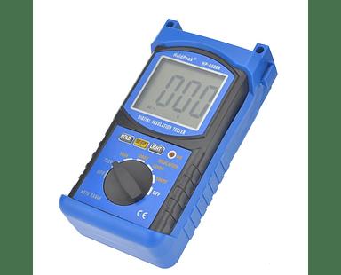 Probador de Resistencia de Aislamiento Digital 5000V