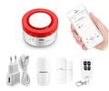 Sensor magnético para persianas negocios Metálico inalámbrico para Alarma GSM
