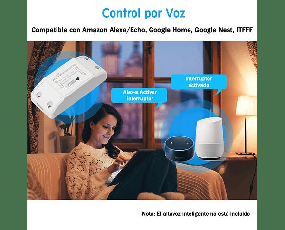 Interruptor Inteligente WiFi Inalámbrico Max Corr 10A APP Tuya