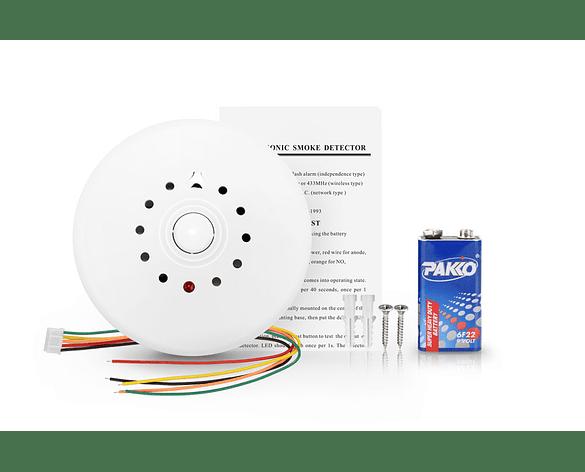 Sensor de Humo y Calor Alámbrico