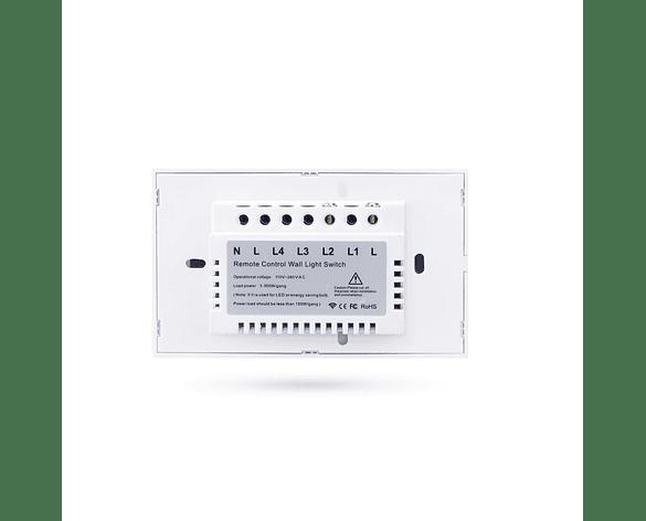 Interruptor de Luz Inalámbrico Domótica Smart Touch para Alarma G90 Plus