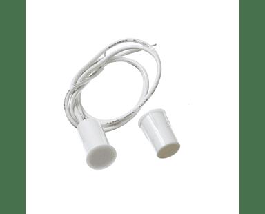 Sensor magnético alámbrico de puerta y ventana empotrado