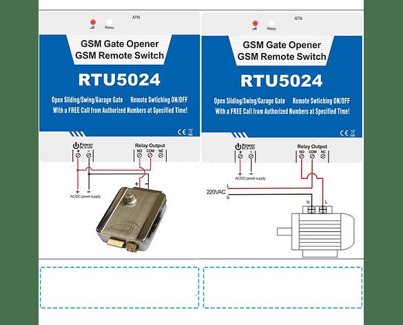 Control Remoto Relé RTU5024 3G Abridor de Puerta
