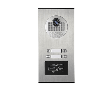 Video Portero Citófono a Color para 4 Viviendas RFID