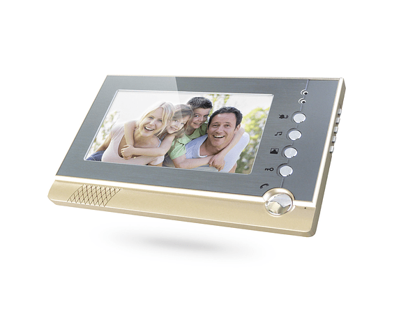 """Video Portero Citófono a color 7""""TFT LCD Impermeable RFID ID Card"""
