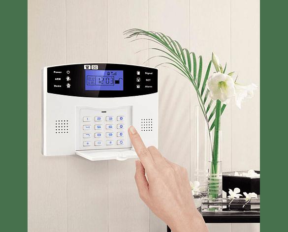 Sistema de Alarma GSM de Casa y Oficina 99 Zonas Inalámbricas 7 Alámbricas CQN